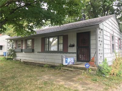Brownsburg Single Family Home Active W Contingency: 505 East Douglas Drive
