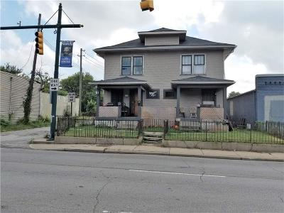 Indianapolis Single Family Home For Sale: 321 West 30th Street
