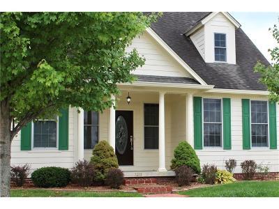 Avon Single Family Home For Sale: 7215 Lockford Walk N