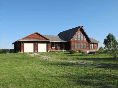Henry County Farm For Sale: 1881 West County Road 650 N