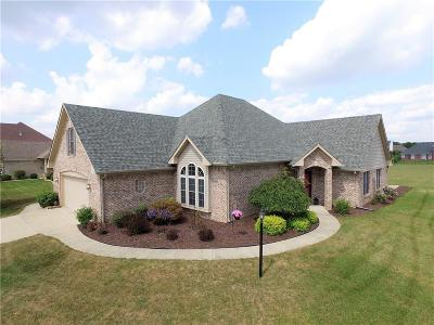 Indianapolis Single Family Home For Sale: 6246 Silver Moon Court