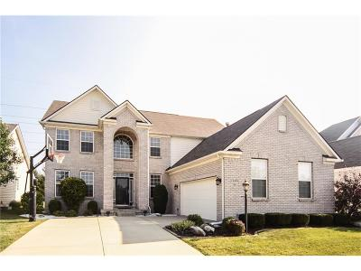 Fishers Single Family Home For Sale: 12435 Eddington Place