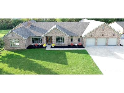 Fishers Single Family Home For Sale: 12454 Hoosier Road