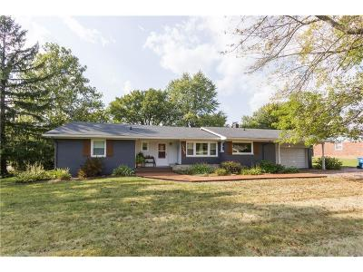 Indianapolis Single Family Home For Sale: 7710 Allisonville Road