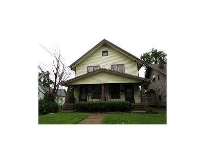 Indianapolis Single Family Home For Sale: 14 North Dequincy Street