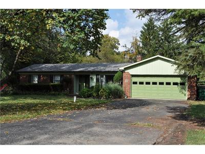 Fishers Single Family Home For Sale: 8130 East 115th Street