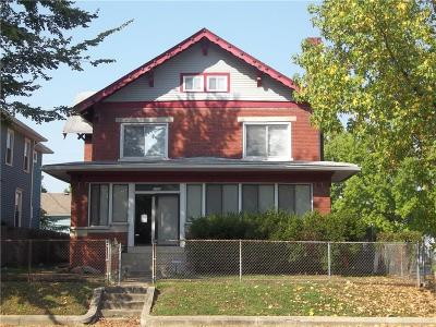 Indianapolis Single Family Home For Sale: 2122 North College Avenue