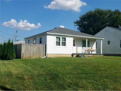 Rushville Single Family Home For Sale: 1230 North Morgan Street