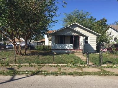 Indianapolis Single Family Home For Sale: 1726 Orleans Street