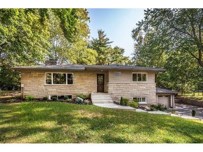 Indianapolis Single Family Home For Sale: 7821 Meadowbrook Drive