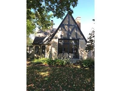 Single Family Home For Sale: 4702 North Illinois Street