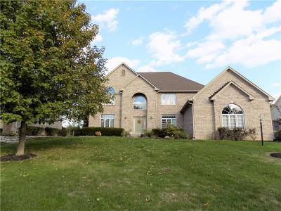 Zionsville Single Family Home For Sale: 4873 Austin Trace
