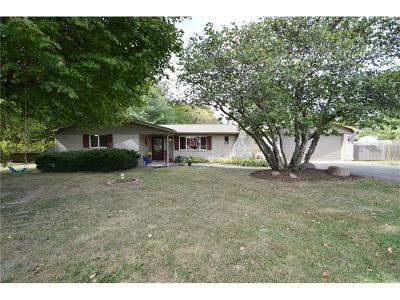 Plainfield Single Family Home For Sale: 5121 Gibbs Road