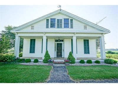 Shelbyville Single Family Home For Sale: 8100 North 500 E