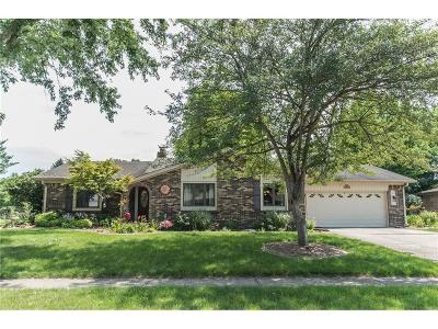 Plainfield Single Family Home For Sale: 1729 Sycamore Drive