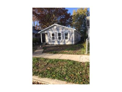 Indianapolis IN Single Family Home For Sale: $180,000