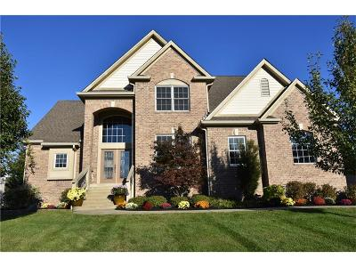 Fishers Single Family Home For Sale: 9698 Soaring Eagle Lane
