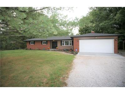 Avon Single Family Home For Sale: 2132 North County Road 425