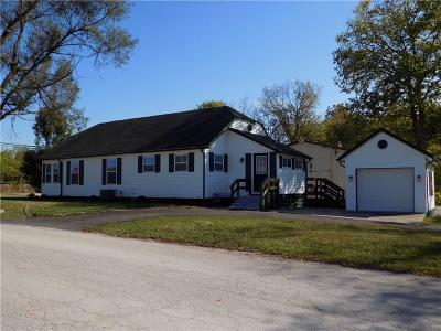 Greencastle Single Family Home For Sale: 876 West County Road 25 S