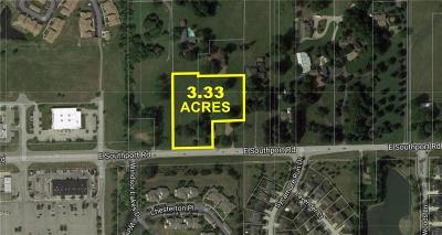 Indianapolis Commercial Lots & Land For Sale: 5434 East Southport Road