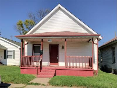 Shelbyville Single Family Home For Sale: 554 East Broadway Street