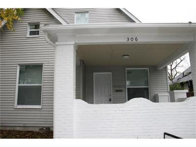 Indianapolis Single Family Home For Sale: 306 North Holmes Avenue