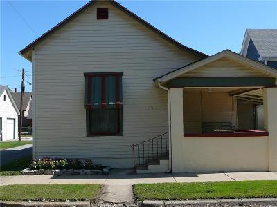 Shelbyville Single Family Home For Sale: 218 South West Street