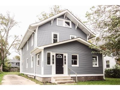 Marion County Single Family Home For Sale: 3905 Carrollton Avenue