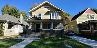 Single Family Home For Sale: 3931 North Capitol