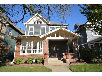 Indianapolis Single Family Home For Sale: 1945 North Pennsylvania Street