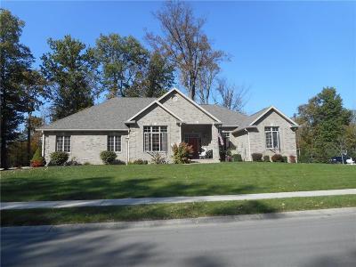 Delaware County Single Family Home For Sale: 3102 West Brenwick Lane