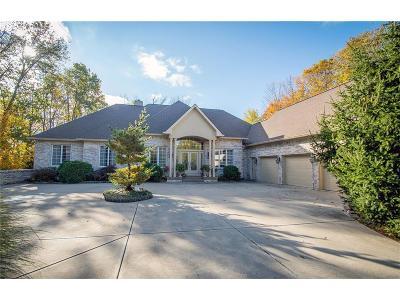 Zionsville Single Family Home For Sale: 9943 Irishmans Run Lane
