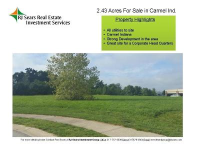 Carmel Commercial Lots & Land For Sale: 00 Lakefront Court