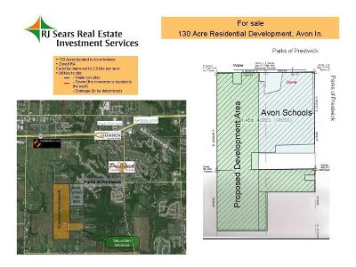 Hendricks County Residential Lots & Land For Sale: Co Rd 100 S Road