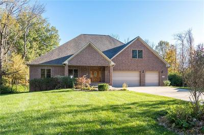Hendricks County Single Family Home For Sale: 4763 Beechwood Road