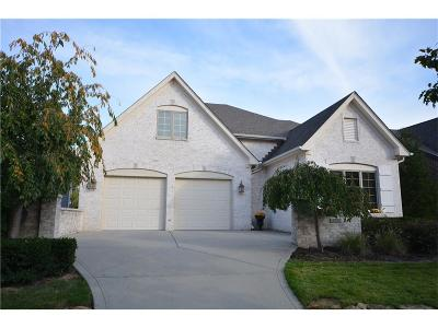 Zionsville Single Family Home For Sale: 6729 West Stonegate Drive