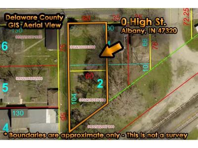 Delaware County Residential Lots & Land For Sale: West High Street