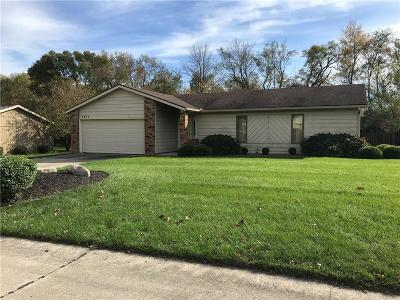 Delaware County Single Family Home For Sale: 4011 West Robinwood Drive