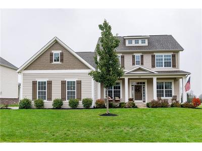 Zionsville Single Family Home For Sale: 3605 Old Quarry Drive