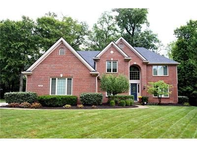 Fishers Single Family Home For Sale: 10545 Tremont Circle