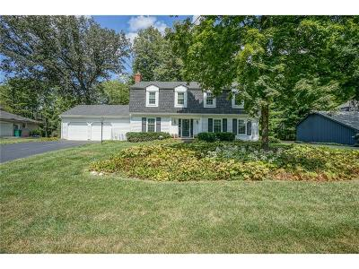Indianapolis Single Family Home For Sale: 1508 Brewster Road