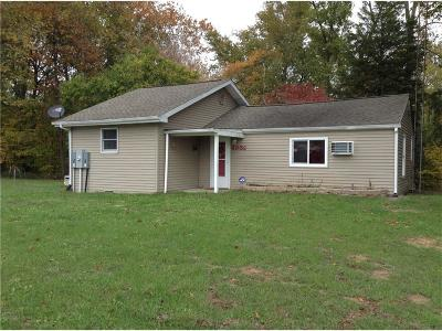 Parke County Single Family Home For Sale: 4050 West County Road 900 S