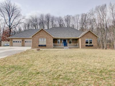 Decatur County Single Family Home For Sale: 5578 East County Road 100 N