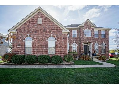 Fishers Single Family Home For Sale: 13869 Ash Stone Court