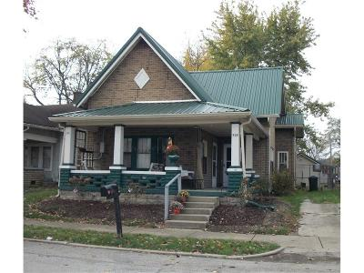 Greenfield Single Family Home For Sale: 414 Riley Avenue