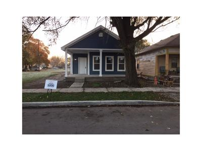 Indianapolis IN Single Family Home For Sale: $195,000