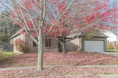 Carmel, Westfield Single Family Home For Sale: 11634 Rose Court