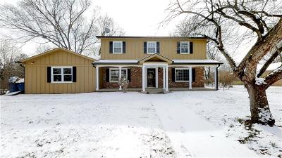 Carmel Single Family Home For Sale: 3803 Brunswick Drive