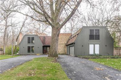 Indianapolis Single Family Home For Sale: 8139 Claridge Road