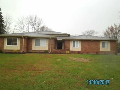 Indianapolis Single Family Home For Sale: 5450 Wiley Avenue